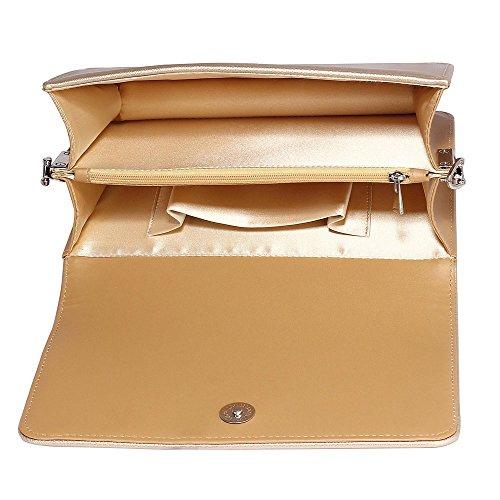 The FabLookAcc , Damen Clutch gold gold