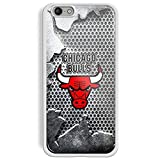 chicago bull cool logo For iPhone and samsung galaxy case (iPhone 6/6s White)