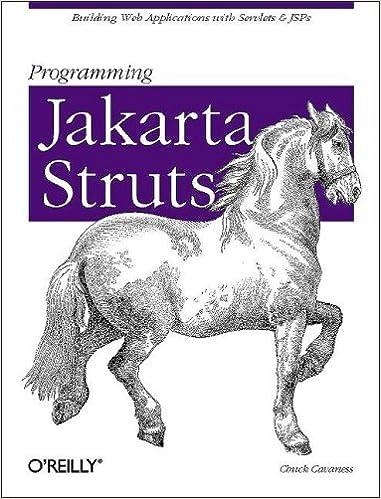 Programming Jakarta Struts Amazonin Chuck Cavaness Books