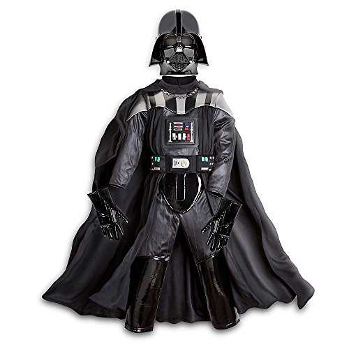 Disney Store Star Wars The Force Awakens Darth Vader Costume Size 5/6 ()