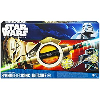 Amazon Com Star Wars Clone Wars Grievous Spinning
