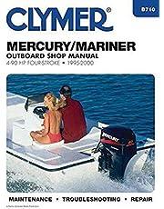 Mercury/Mariner Outboard Shop Manual: 4-90 HP Carbureted Four-Stoke 1995-2006