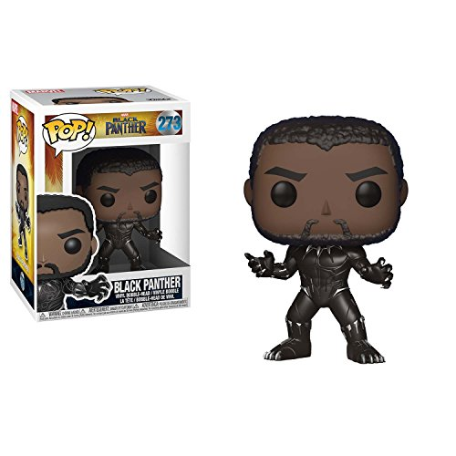Funko Pop  Marvel  Black Panther Movie   Black Panther  Styles May Vary  Collectible Figure