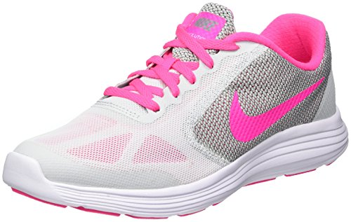 Donna Scarpe Nike Revolution Platinum Pink Running Pure 3 007 da Grey Wolf 38 EU GS White Blast Trail qtHtr0B