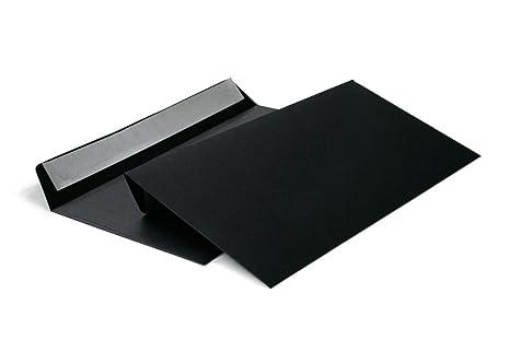 Envelopes Din Long Dl 120gsm Wallet Envelope Without Window C65 114x229 Mm 120 Gm² Black Item 214 A
