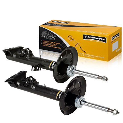 Maxorber Front Pair Set Shocks Absorber Compatible with BMW Z3 1996-2002