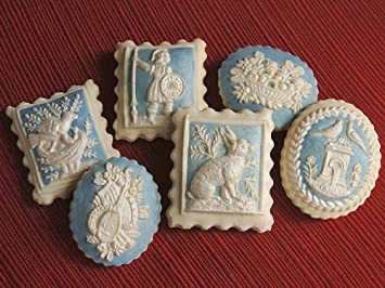 Amazon Com Wedgwood Inspired Lemon Springerle Cookies Grocery