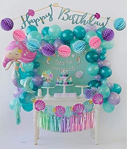 Amazon.com: PomPomGLAM - Kit de decoración para fiestas de ...