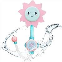 XISHU Jouet de bain de tournesol bébé Douche Spray Baignoire Jouets éducatifs précoce Cadeaux pour bébés