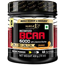 MuscleXP Instantized BCAA 6000 with LAlanine Taurine 400g