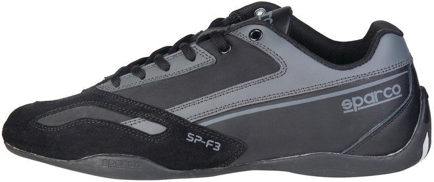 Sparco Herren Sp F3 Niedrigschnitt Veloursleder Rennschuhe Sportschuhe Schuhe Handtaschen
