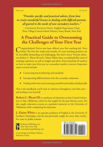 Making Your First Year a Success: A Classroom Survival Guide for Middle and High School Teachers