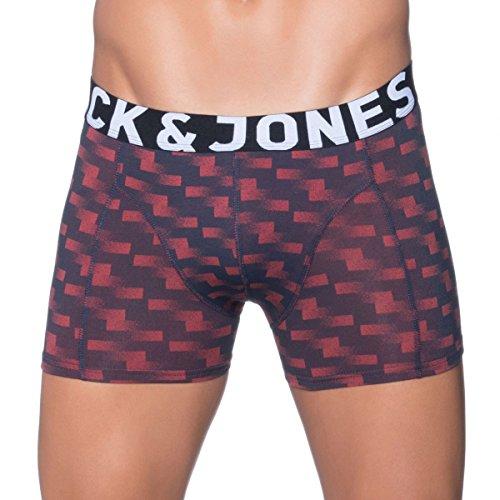 Jack & Jones 3-er Set Trunks Blau mit Muster