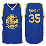 Kevin Durant Golden State Warriors Mens Blue Jersey L