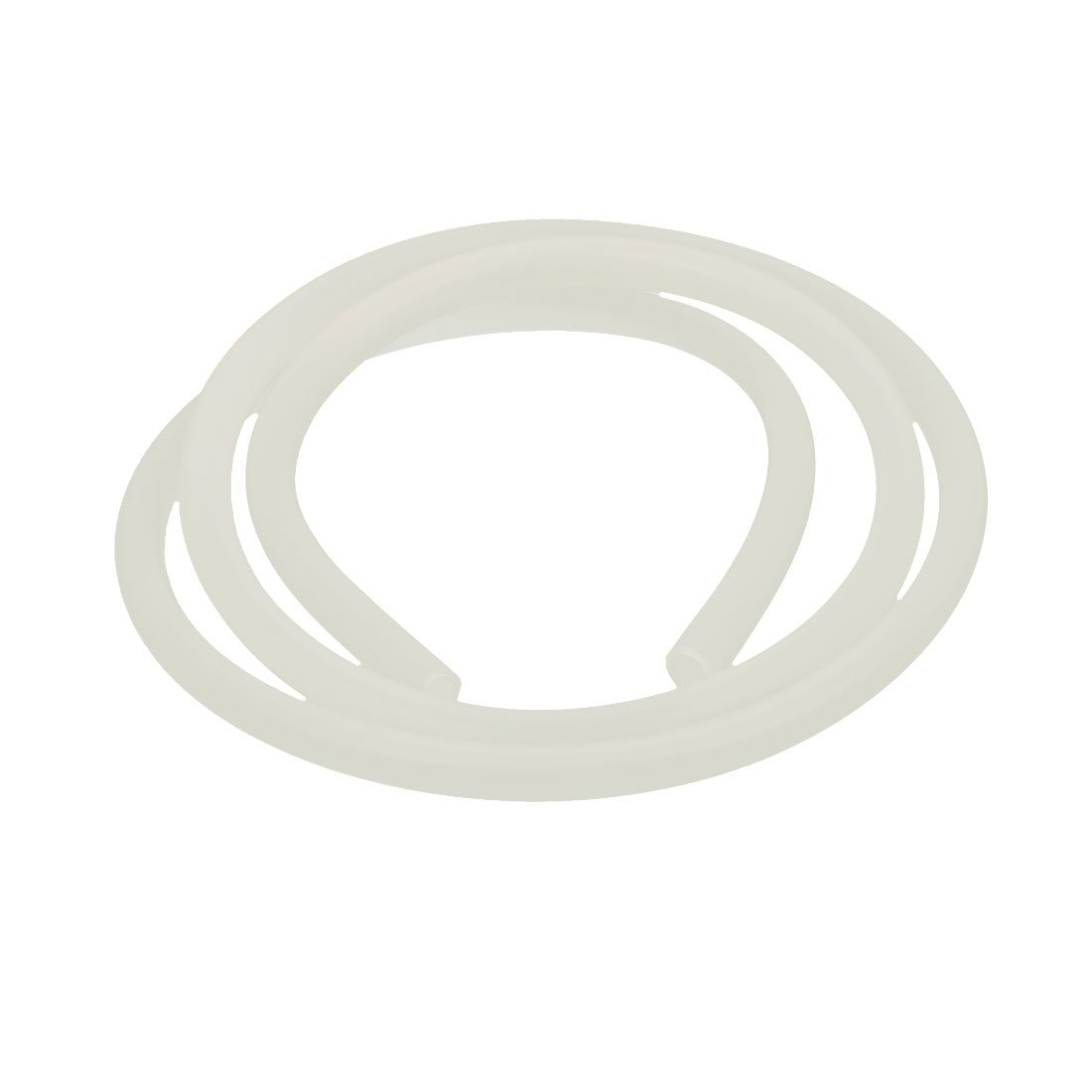 uxcell 6mm x 8mm Beige Silicone Tube Water Air Pump Hose Pipe 1M Length