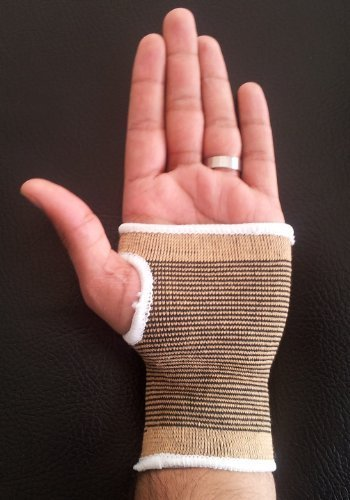 Bronze Palm Hand Wrist Support Tennis Squash Badminton by HISP UK