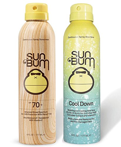 Sun Bum SPF 70 Spray Sunscreen + Aloe Spray