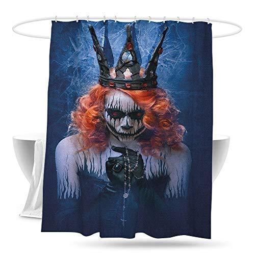jifuhongmaoyi Shower Curtain with Hooks Queen Queen of