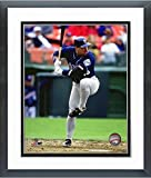 "Jim Leyritz San Diego Padres MLB Action Photo (Size: 12.5"" x 15.5"") Framed"