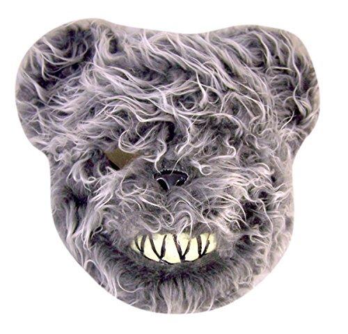 Evil Scary Furry Bear Halloween Costume Mask