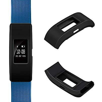 iFeeker Band Cover Protector for Fitbit Charge Soft Silicone Sleeve Fitness Band Cover Protective Case Accessories for 2016 Fitbit Charge Heart Rate and Fitness Wristband No Tracker Band Estimated Price £4.57 -