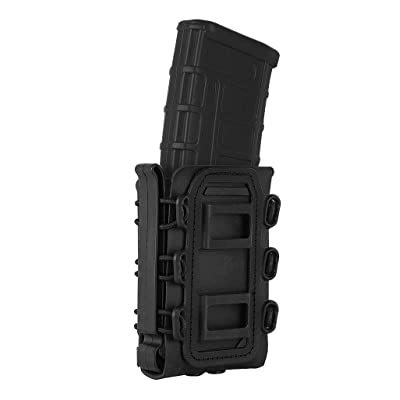 Tactical MOLLE Soft Shell Magazine Pouch 7.62 5.56 .223 Airsoft Fast Mag Carrier
