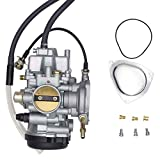 yamaha kodiak 450 carburetor - SUNROAD Replacement Carburetor for ATV for Yamaha 2000-2006 Big Bear Kodiak 400 & 2007-2011 Grizzly 350 450 & 2006-2009 Wolverine 350 & 2007-2010 Wolverine 450