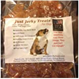 Natural Chicken Jerky Dog Treats - 100% Natural Chicken, No Fillers or Chemicals! Made In USA! (1lb)
