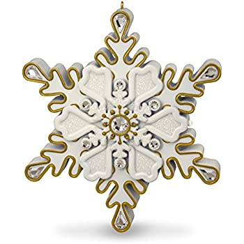 Qualified Snowflake #51 Brass Ornament Special Buy Holiday & Seasonal