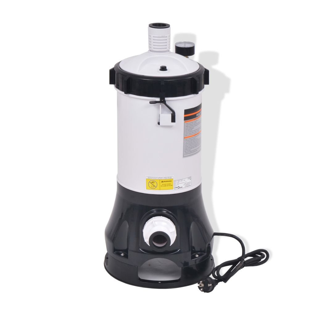 vidaXL Pompe /à Filtre de Piscine et Billes de Filtre Syst/ème de Filtration