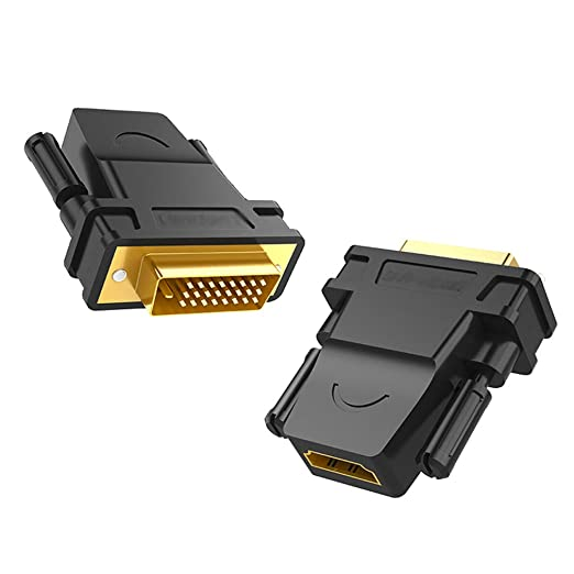 ZLDGR Green Union DVI a HDMI Conector PS4 Universal portátil ...