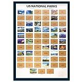 National Parks Scratch Off Map -National Parks Map