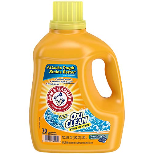 Arm & Hammer Liquid Laundry Plus Oxi Clean, Meadow, 122.5 Fluid Ounce