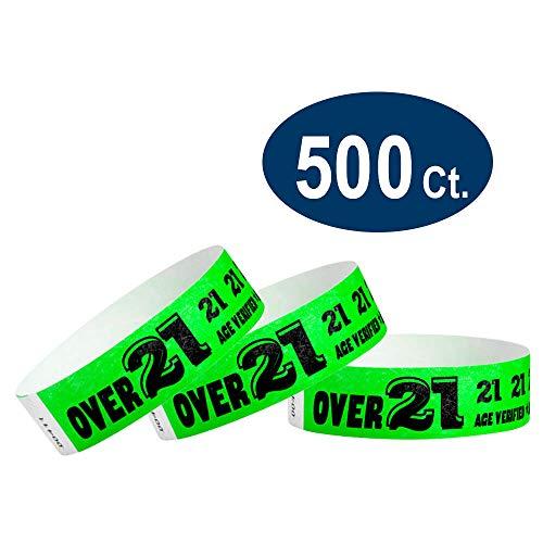 (Over 21 Green - Wristco 3/4