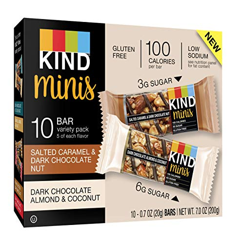 - KIND Bar Mini's,  Pack, 7oz Bar, 30 Count
