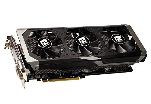 PowerColor AXR9 390X 8GBD5-PPDHE AMD Powercolor Grafikkarte(ATI, PCI-e, 4GB GDDR5 Speicher, DVI, HDMI, DisplayPort)