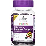 Zarbee's Naturals Children's Elderberry Immune Support* Gummies...