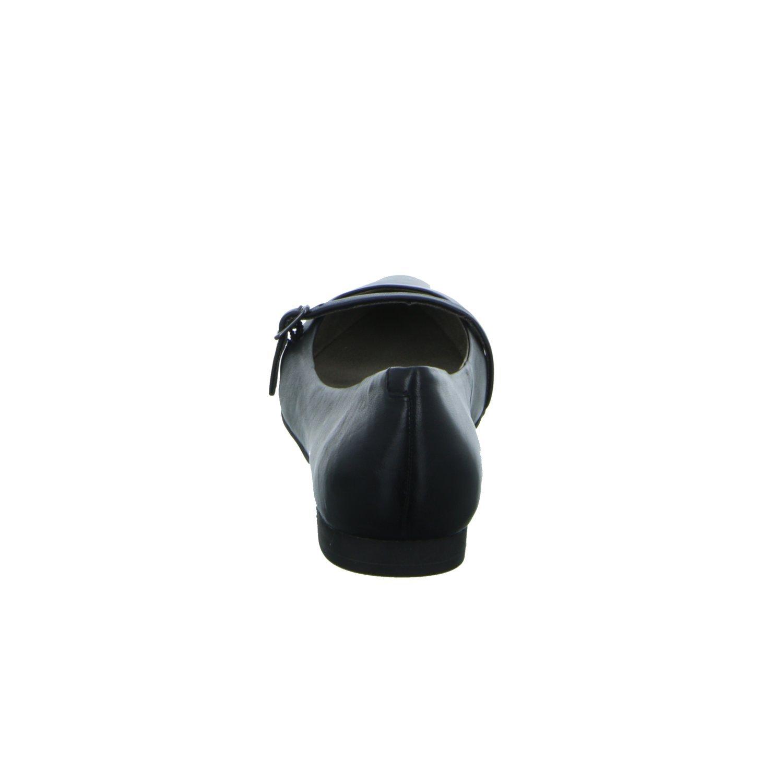 Tamaris Schuhe 1-1-24234-28 Bequeme Damen Slipper, für Slip On, Halbschuhe, Sommerschuhe für Slipper, modebewusste Frau, schwarz Leder 12399b