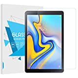 "TiMOVO Samsung Galaxy Tab A 10.5"" Screen Protector, Ultra Clear Hardness Tempered Glass Screen Protector Bubble-Free Anti-Scratch Film for Samsung Galaxy Tab A 10.5 Inch 2018 Release Tablet, Clear"