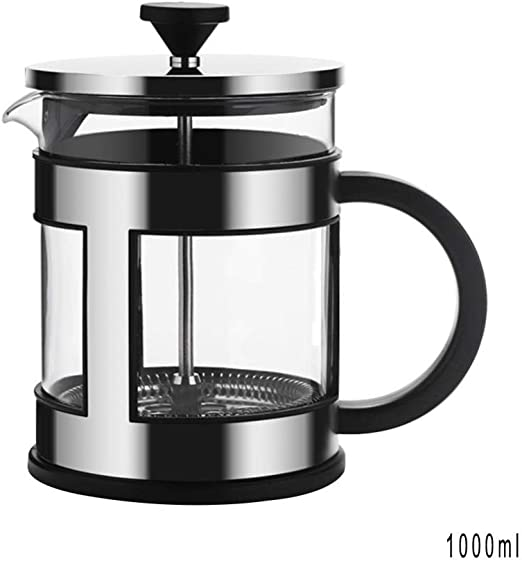 French Press Cafetera de Acero Inoxidable Cafetera Tetera de ...
