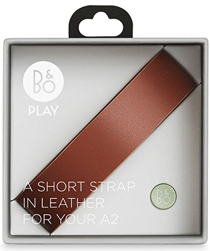 B&O PLAY by Bang & Olufsen Beoplay A2 Accessory Short Leather Strap (Red)
