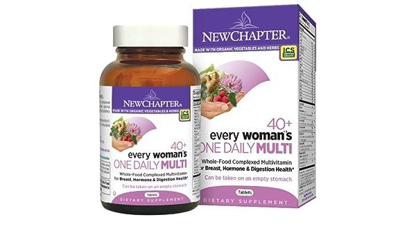 New Chapter - Cada mujer una diariamente 40 Plus - 72 ...
