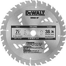 DEWALT DW3576B10 7-1/4-Inch 36T Carbide Thin Kerf Circular Saw Blade