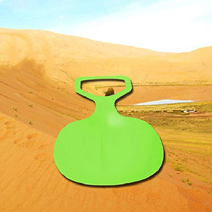 ZeHui Outdoor Snow Sled Grass Sand Slider Toboggan Snow Board for ...