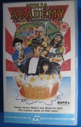 Amazon.com: Ninja Academy [VHS]: Will Egan, Gerald Okamura ...