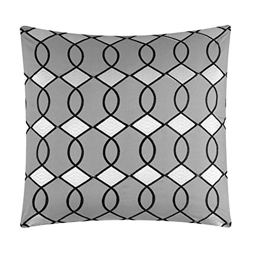 Chic Home Katrin 20 Piece Comforter Color Block Geometric Embroidered Bag Bedding-Sheet Set Pillowcases Window… 3