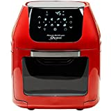 6 QT Power Air Fryer Oven With 7 in 1 Cooking Features with Professional Dehydrator and Rotisserie …