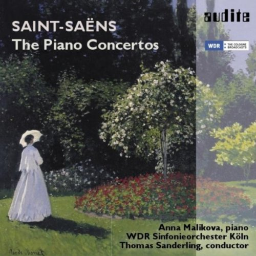 Saint Saens (Camille Saint-Saëns: The Complete Piano Concertos (Piano Concerto No. 1, D Major, Op. 17, No. 2, G Minor, Op. 22, No. 3, E-Flat Major, Op. 29, No. 4, C Minor, Op. 44, No. 5, F Major, Op. 103 (