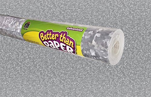 Metal Roll - Teacher Created Resources Galvanized Metal Better Than Paper Bulletin Board Roll (TCR77351)