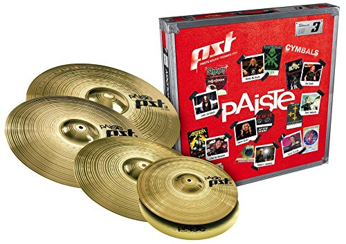 paiste-pst-3-limited-edition-universal-cymbal-set-with-free-18-crash-14-16-18-and-20-in